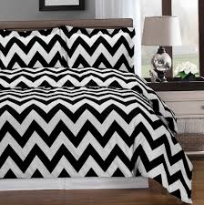 black and white duvet set 6 piece duvet cover set in white and