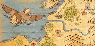 Sinnoh Map Sinnoh Map On Behance