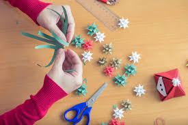 cheap christmas decorations how to make paper christmas decorations at home christmas2017