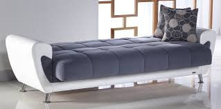 Bedroom Furniture Sofa Duru Cozy Gray Sofa Bed By Sunset Convertible Furniture