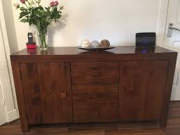 sideboard tv unit and coffee table with side tables dark mango