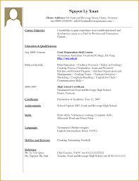 Experienced Resume Templates Cover Letter Resume Templates For Students With No Experience