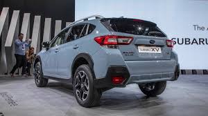 red subaru crosstrek 2018 2018 subaru crosstrek debut from the 2017 geneva motor show