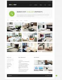 Bootstrap Real Estate Template by Apartments For Rent Joomla Template 46371