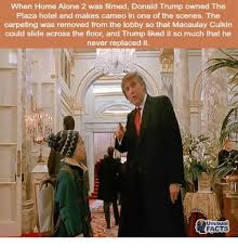 donald trump home when home alone 2 was filmed donald trump owned the plaza hotel and