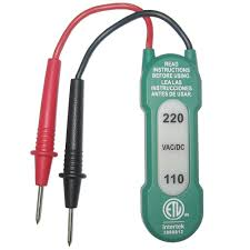 commercial electric 110 220 vac voltage tester ms8900h the home