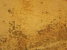 yellow brown grunge paint texture yellow brown crack