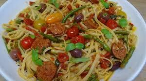 recette de cuisine all lunguini au chorizo façon all arrabiata recette par cuisine en folie