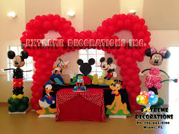mickey mouse party decorations party decorations miami balloon sculptures diy