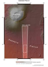 the geography of mars