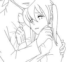 soul eater coloring pages soul eater sxm hug lineart by sweetjanie on deviantart