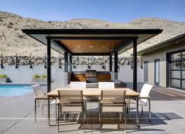 Outside Kitchen Design Ideas Kitchen Modern Outdoor Kitchen Luxury Design Ideas With Brown Wall