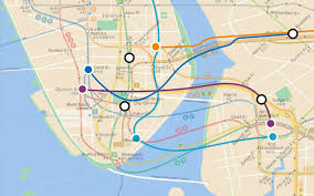 Nyc Mta Map Infographic Of The Day A Map Of Nyc U0027s Lost Subway Lines
