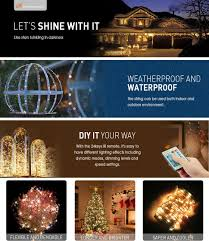 Luxury Outdoor Lights Timer Architecture by Amazon Com Led Decorative Fairy String Lights Moobibear 66ft