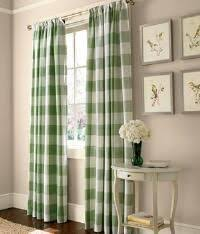 Blue Buffalo Check Curtains Blue And White Peonies Drapery Panels Buffalo Check Curtains