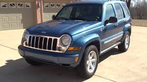hd video 2006 jeep liberty limited 4x4 blue used for sale info see