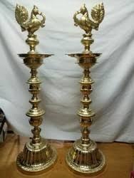 brass lamp in kumbakonam tamil nadu peetal ke lamp