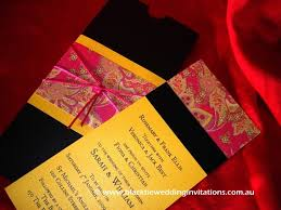 Wedding Invitations India Exotic India Black Tie Wedding Invitations Blogblack Tie Wedding
