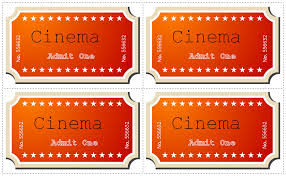 21 free movie ticket templates creative template creative