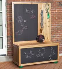 Wooden Toy Chest Plans Free by Free Toy Box Plans With Chalkboard Woodwork City