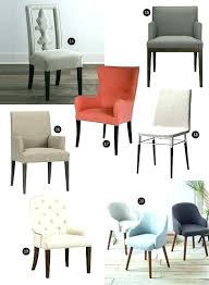 Houzz Dining Chairs Upholstered Dining Room Chairs Houzz Sloping Arm Dining Chair