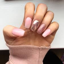 pink glitter and chrome nails nails n toenails pinterest