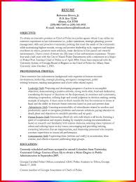 Police Officer Resume With No Experience Download Model Resume Template Haadyaooverbayresort Com