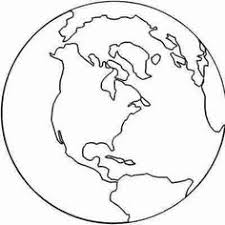 Printable Earth Coloring Pages free earth printable outlines and shape book writing pages http