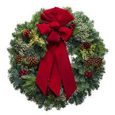 christmas wreaths fresh christmas wreaths christmas forest wreaths