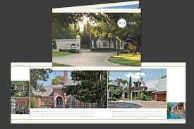 Real Estate Brochure Template by Mathews Nichols Group Texas Real Estate Brochure Template Brand