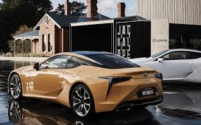 lexus gold the lexus lc 500 lands in australia the tailored man