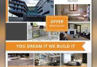 real estate brochure templates psd free download professional