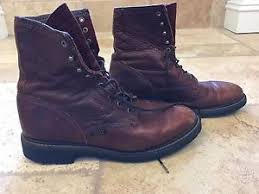 ariat s boots size 12 ariat s brown leather boots size 12 ebay