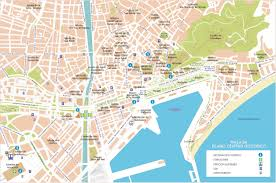 Alicante Spain Map by Malaga Street Map