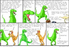 Utah which travels faster light or sound images Dinosaur comics september 22nd 2010 awesome fun times png