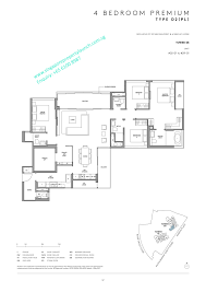 Floor Plan Survey Martin Modern Condo By Guocoland Martin Place Great World Mrt