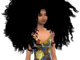 the sims 4 natural curly hair afro hair gallery a k a ethnic hair vault the african sim