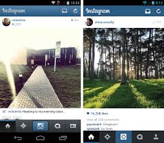 instagram for android instagram for android gets a gorgeous flat redesign