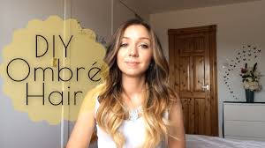 hombre style hair color for 46 year old women diy how to ombré hair at home youtube