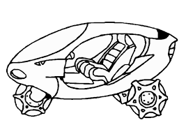 coloring page moon vehicle img 8857