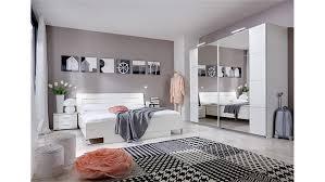 schlafzimmer davos set davos weiß mit schwebetürenschrank 225cm