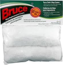 Bruce Hardwood And Laminate Floor Cleaner Bruce Dura Luster Replacement 8x15 Terry Cloth Mop Covers The