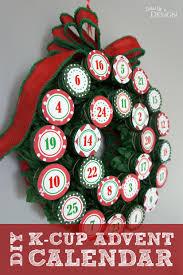 diy k cup advent calendar