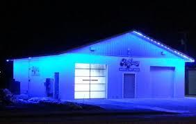 heiser motors using our blue colorbright outdoor led lights