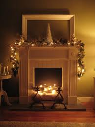 interesting fireplace mantel lighting ideas images design