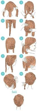 easy hairstyles for waitress s updo with braids 2 hair pinterest updo easy and hair style