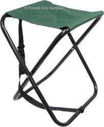 world famous folding camp stools with stainless steel legs