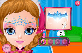 baby frozen face painting android apps google play