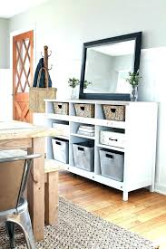 white table with drawers narrow entry table with drawers full image for white distressed wood