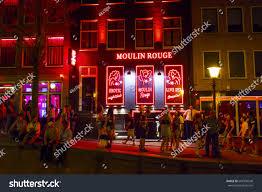 moulin bar shop amsterdam stock photo 687356548